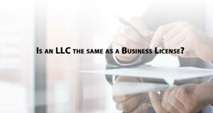 Is-an-LLC-the-same-as-a-business-license-