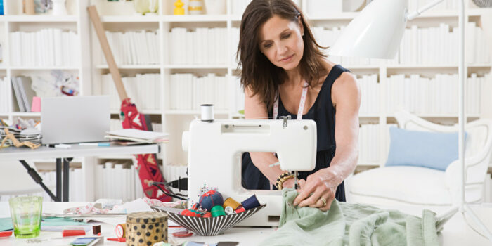 at home sewing business