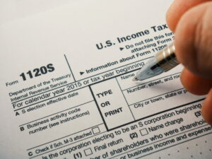 business activity code for taxes
