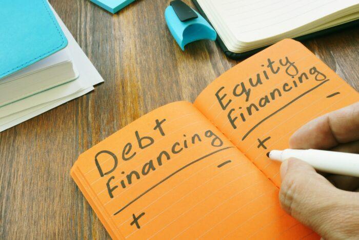equity vs debt financing