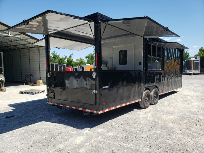 food truck cart