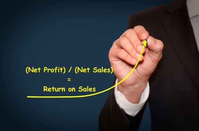 what is return on sales